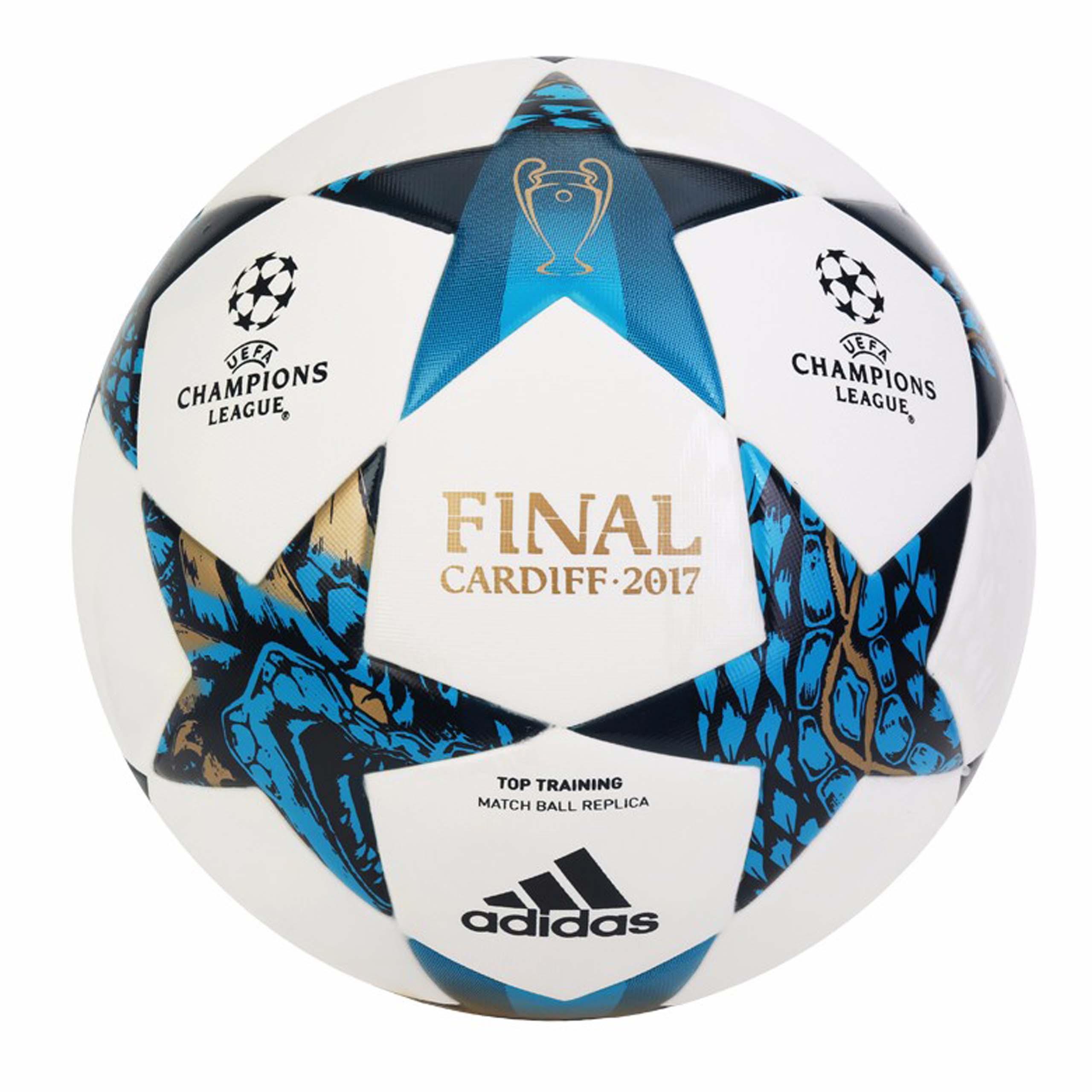 Piłka nożna adidas Champions League Finale 17 Cardiff Top Training AZ9609 rozm. 5